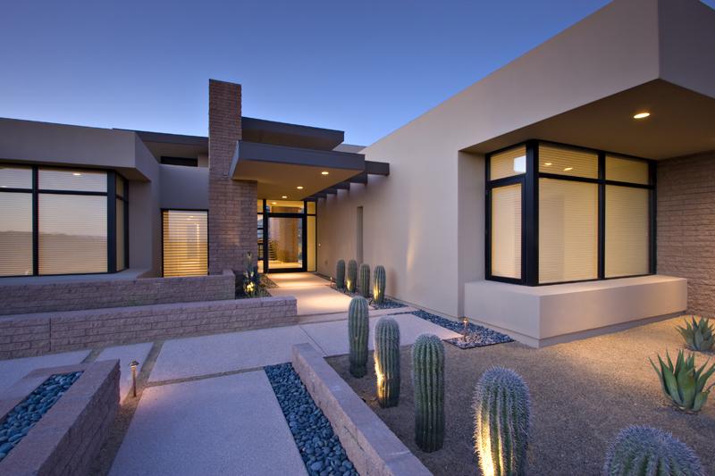 McCreary Homes, modern entry, tucson builders.jpg