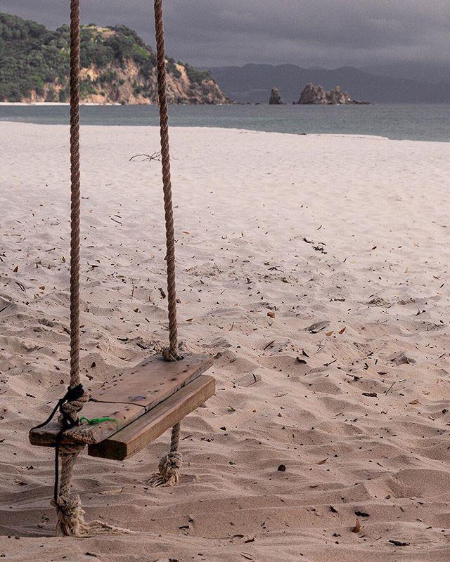 Swing low, sweet chariot | 1 of 2 |• • • • • #sandybeaches #lifesabeach #coromandel #eastcoast #sandcastles #triptych #swinging #doitforthegram  #Sony #Sonyalpha #nzmade  #nz  #capturenz #beautifulplaces  #coastline #discover_newzealand #lanscapecaptures #purenewzealand #splendid_earth #wanderlust