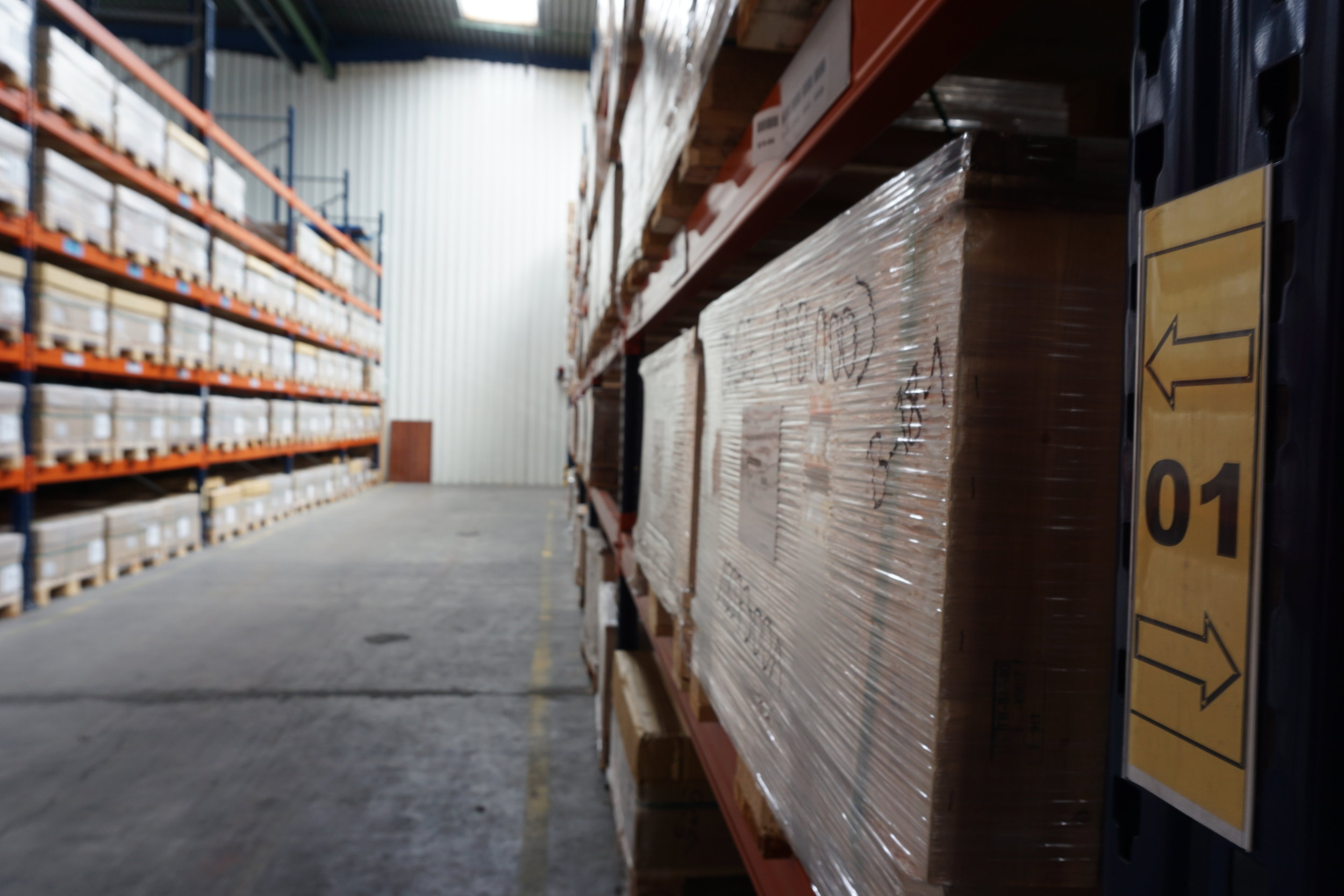 Performing all administrative and physical functions associated with the storage and circulation of goods. -