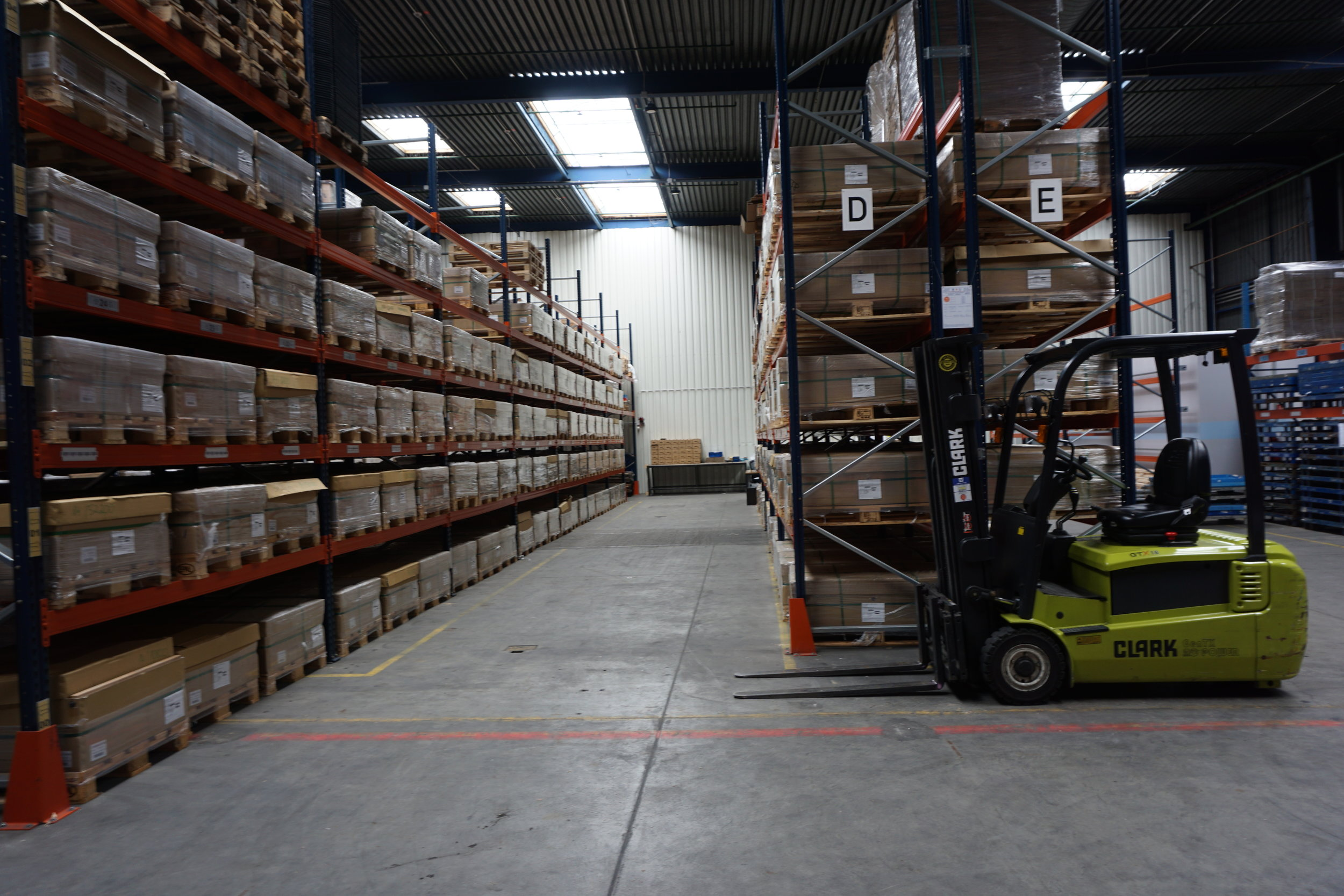 Stock control and inventory tracking. -