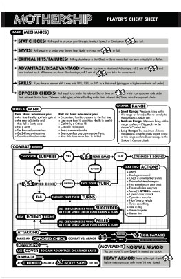 The rules cheat sheet complete with flowchart are available for free online.