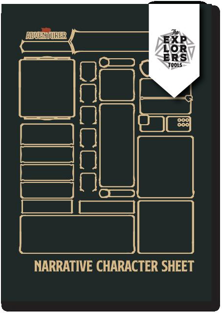 Simplified Character Sheet