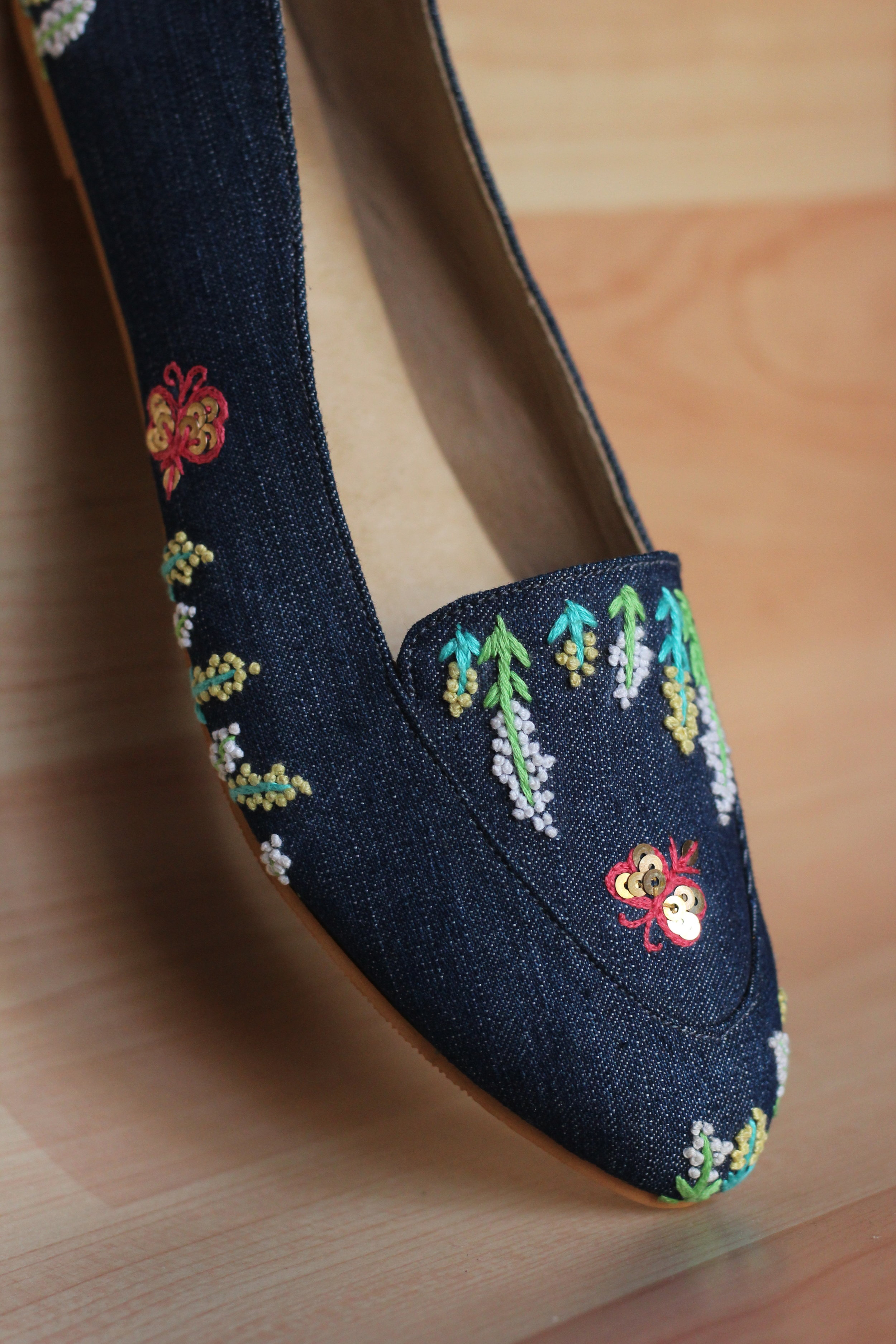 FLUTTER - The butterfly effect on these shoes will lead to series of compliments fluttering your way!