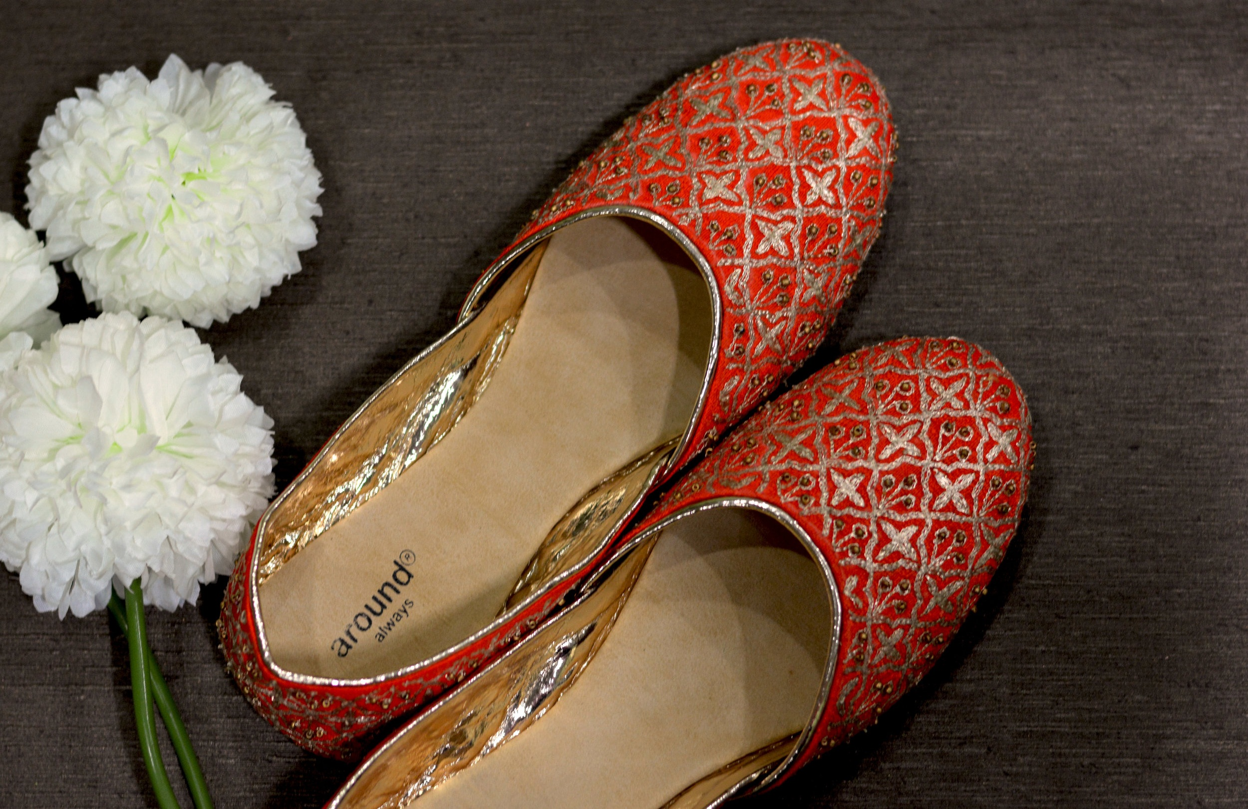 Zara - Neat mesh of zardozi, inspired by Indian architecture to help you put your best foot forward in the traditional set up