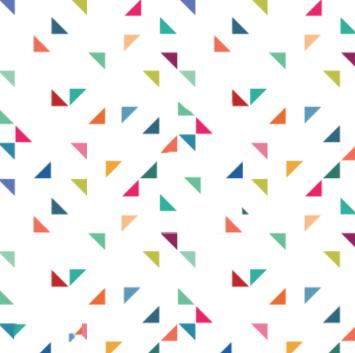 Multi-colored geometric