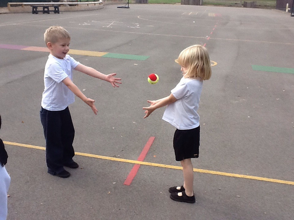 outdoor learning - One of the most effective ways to help your child with your spelling however is to get them outside!This can be as simple as throwing a ball back and forth whilst spelling out their focus words for this week.To take this further, apply this week's spellings into sentences using one word sentences. Take turns saying one word at a time whilst trowing the ball back and forth. The aim is to build a sentence together but can you include this week's spellings?It's incredible how much more engaged a child can be when they are on their feet in the fresh air!