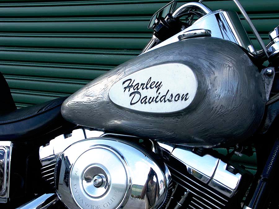 new design harley davidson motorbike