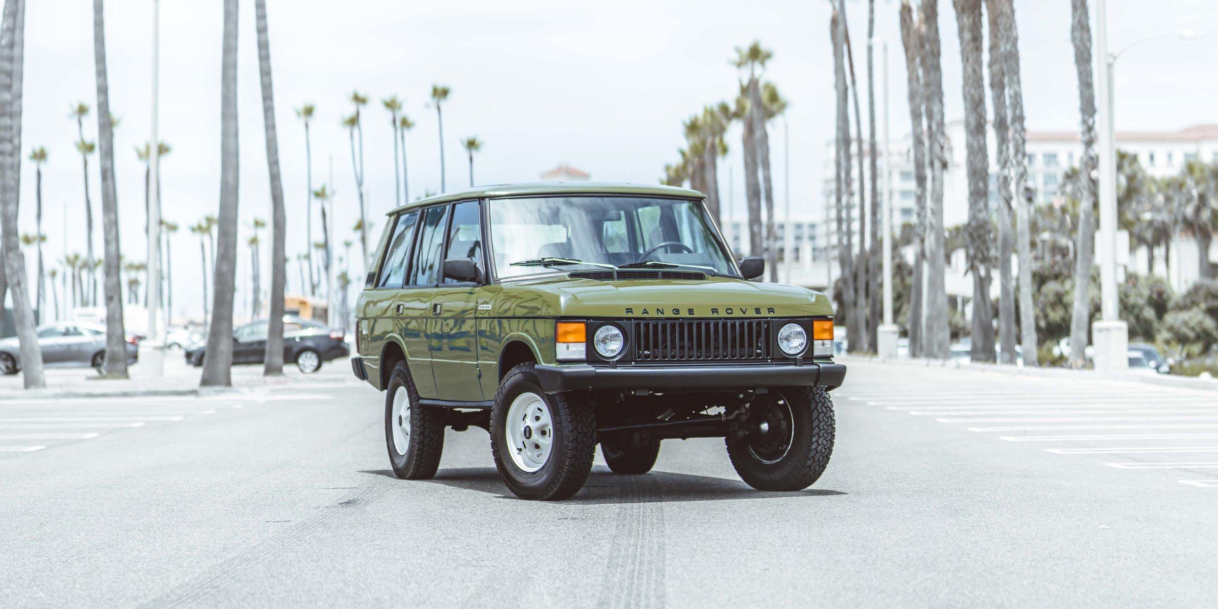 Heritage Range Rover — Brooklyn Coachworks