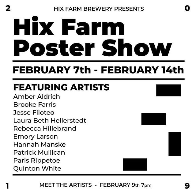 Today is the last day to see the hix farm poster show! Swing by hix farm brewery and check it out to see some nice af art 🙌🏻 #art_viral #art_dailydose #art_we_inspire #artfinder #artshoutout #arts_promote #artshare #artsviral #myart #lifeofanartist #beerandart #studentart #swissdesign