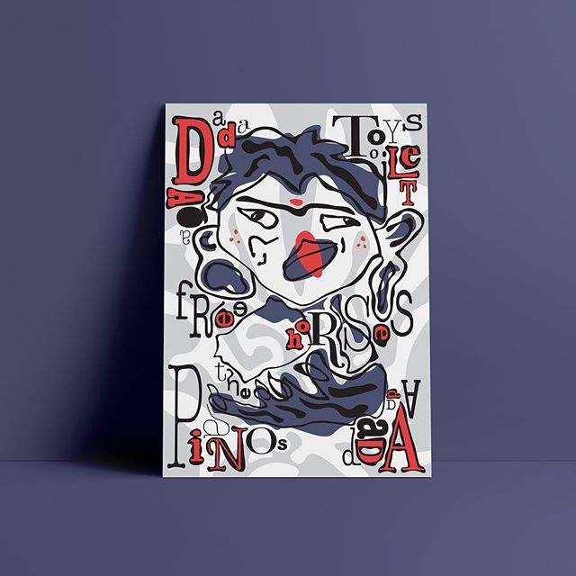 Denim Spring 2018 #dada #digitalart #dadaism #abstractart #digitalabstract #antiart #studentart #artpop #popart #pink #pianos #typography #typographyart #design #typographicart #hifructose #colorfulartwork #colorfultypography #typography #uniquetypography #designtypography #graphicdesignstudent #typographystudy #sansseriffont #sansserif #fontdesign #ikeaposter  #typographicposter #typographystudy #boldtypography