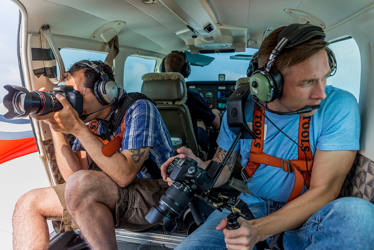 Land, sea or air…. we'll be there! Optic Ninja Media loves a good challenge.