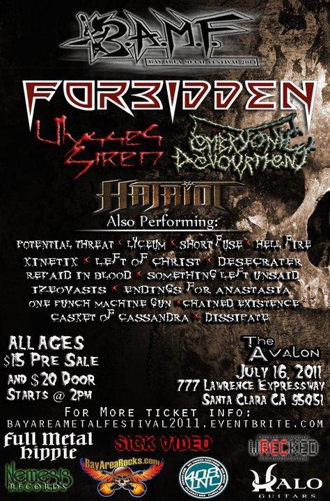 Bay Area Metal Fest -