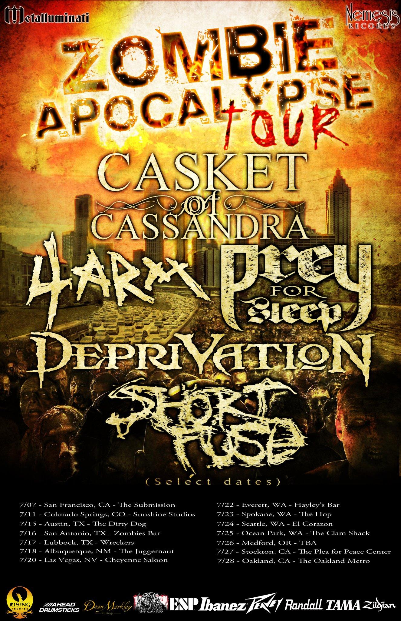 Zombie Apocalypse Tour - with The Metalluminati