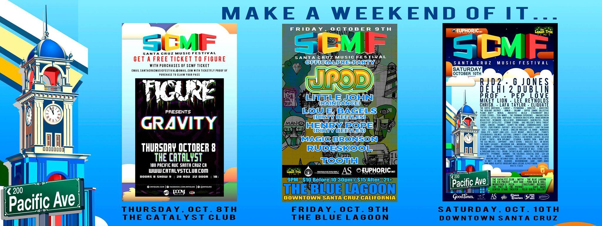 Santa Cruz Music Festival  (Santa Cruz, Ca.)