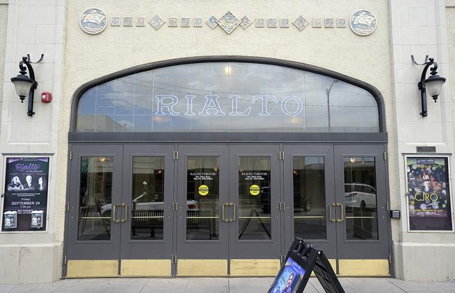 The Rialto Theater in downtown Loveland will host the inaugural Horsetooth International Film Festival on Sept. 7. ( Jenny Sparks / Loveland Reporter-Herald )