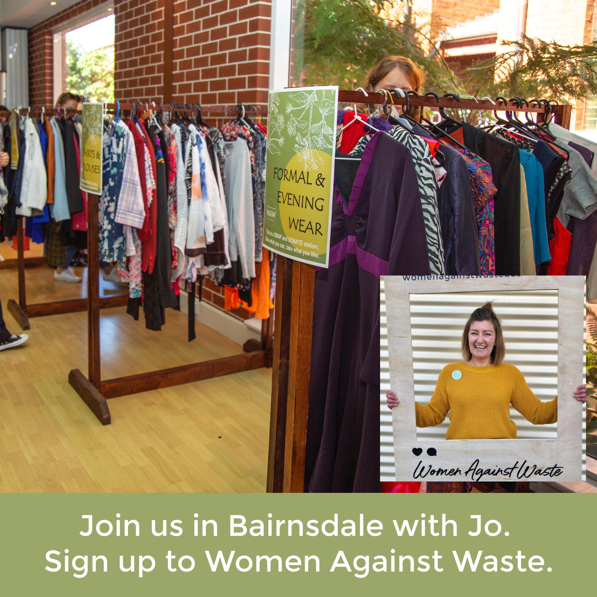 Bairnsdale Women Against Waste Event