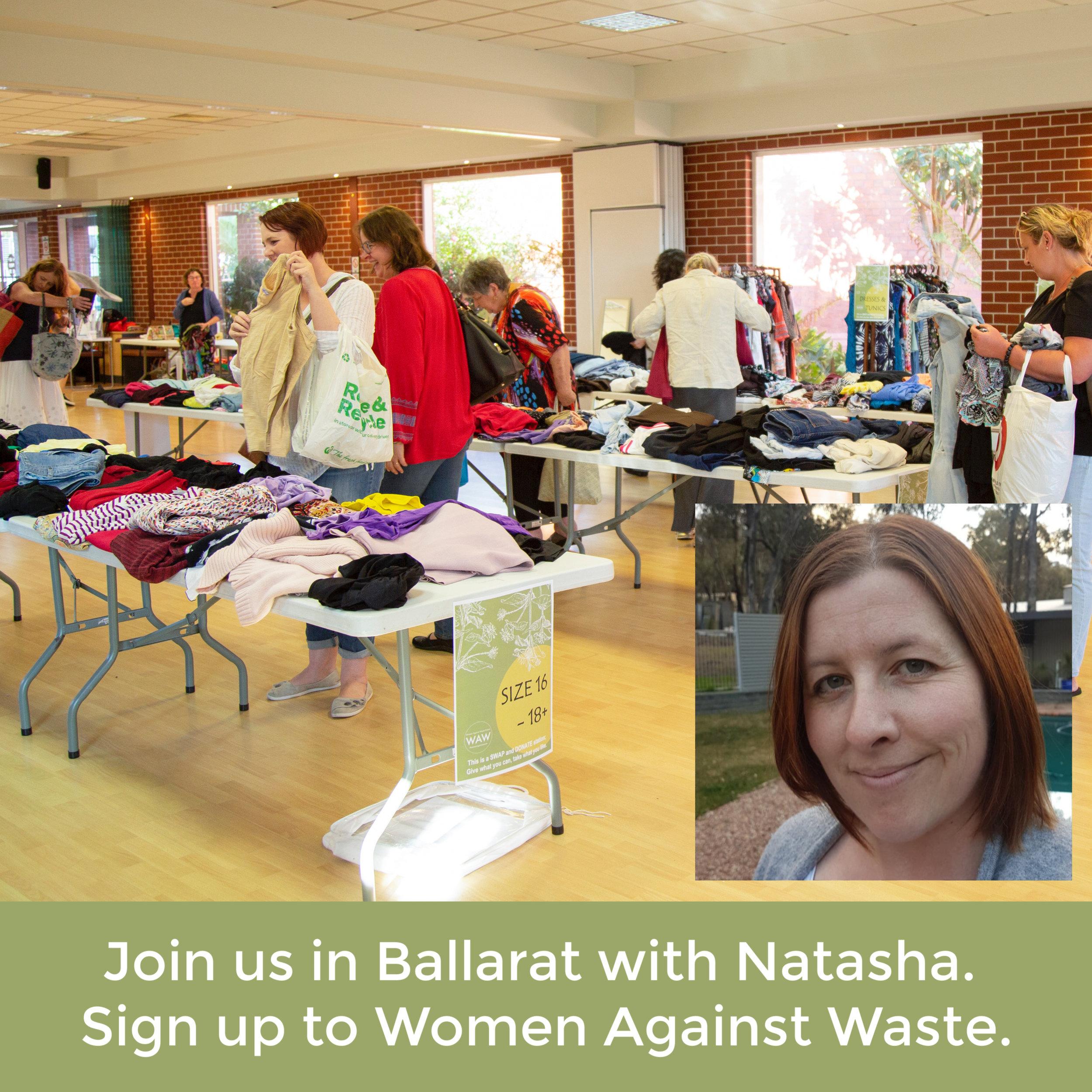 Ballarat Women Against Waste Event