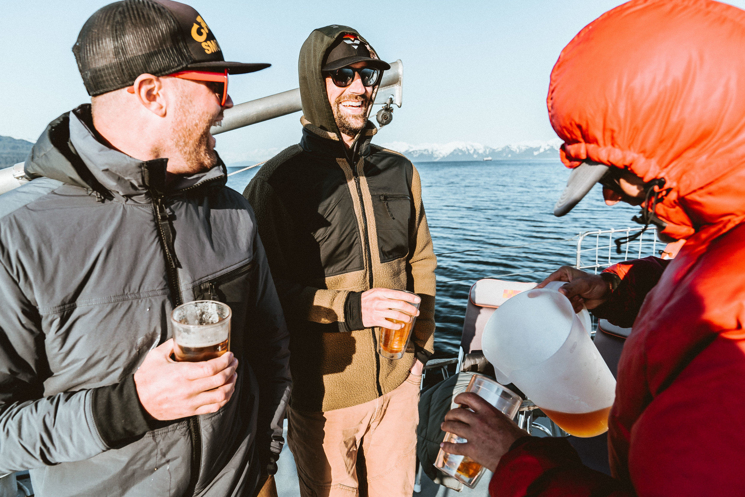 Boat kegs for the win.  Mountain Standard for the warmth.