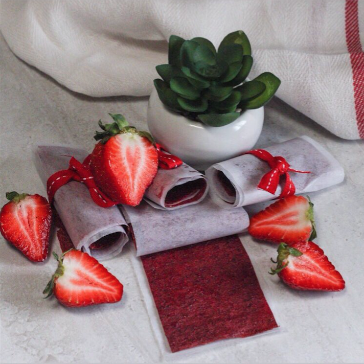 Strawberry Fruit Roll-Ups