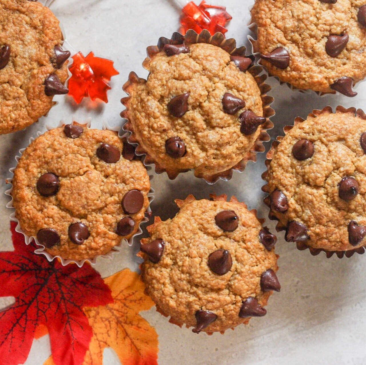 Pumpkin and Chocolate Muffins