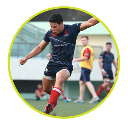 Mr. Charles Cheung, HK Professional Rugby Player