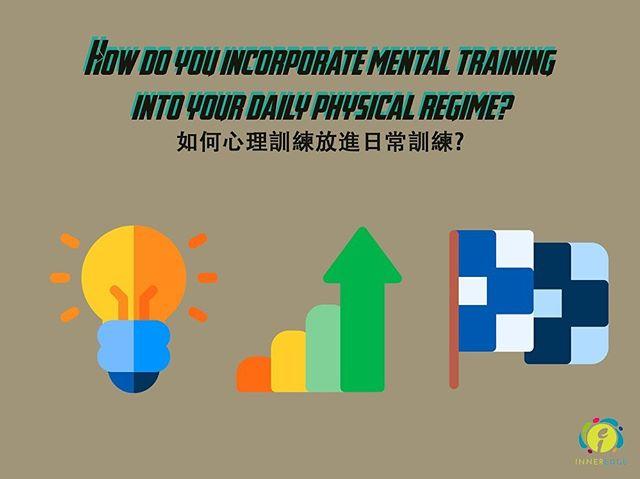 究竟我地每次訓練會唔會用超過 5% 的時間去訓練心理狀態? 就算有,即代表95% 時間都用喺體能、技術訓練。由今日起,不如學下喺行常訓練加入心理元素啦。  How much time do we spend on mental training a day? 5%? Physical training tends to account for the remaining 95%. Keep swiping to learn how to connect both your body and mind during training. #inneredgehk #sportpsychology #mentalskills #mentaledge #performanceenhancement #precompetition #anxietyrelief #feelingonedge #routines #fitnessmotivation #mentalhealth #sportpsychologyconsultant #wellbeing #mindfulness #positivepsychology #exercise