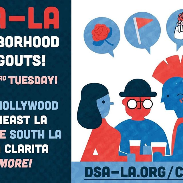 We are back to hosting DSA neighborhood hangout meetings. Come on down! Tonight at 7:00 pm till 9:00 pm. New co-host too, Dakota. Susan hosts too.