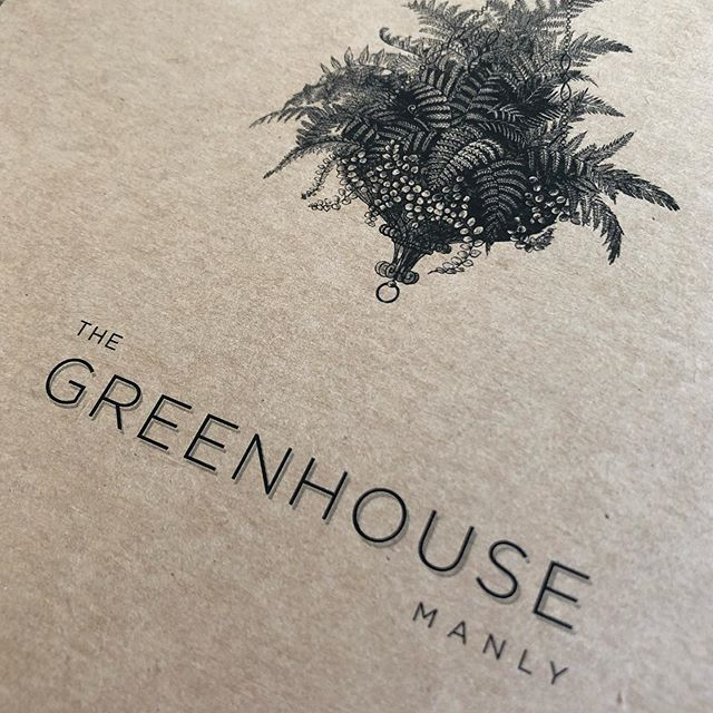 The Greenhouse Manly. branding proposal.