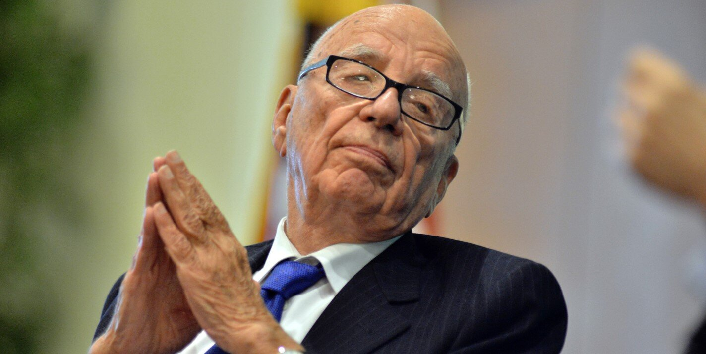 Murdoch, owner of News Australia, is estimated to be worth over 20 billion dollars.