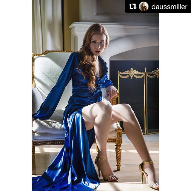 #Repost @daussmiller - #storyteller #fashionlover ・・・ Throwback to the DMC campaign Model | Zoe King Gown | Desmon Mourice MUA | Brittany Marie Carlstrand www.daussmiller.com
