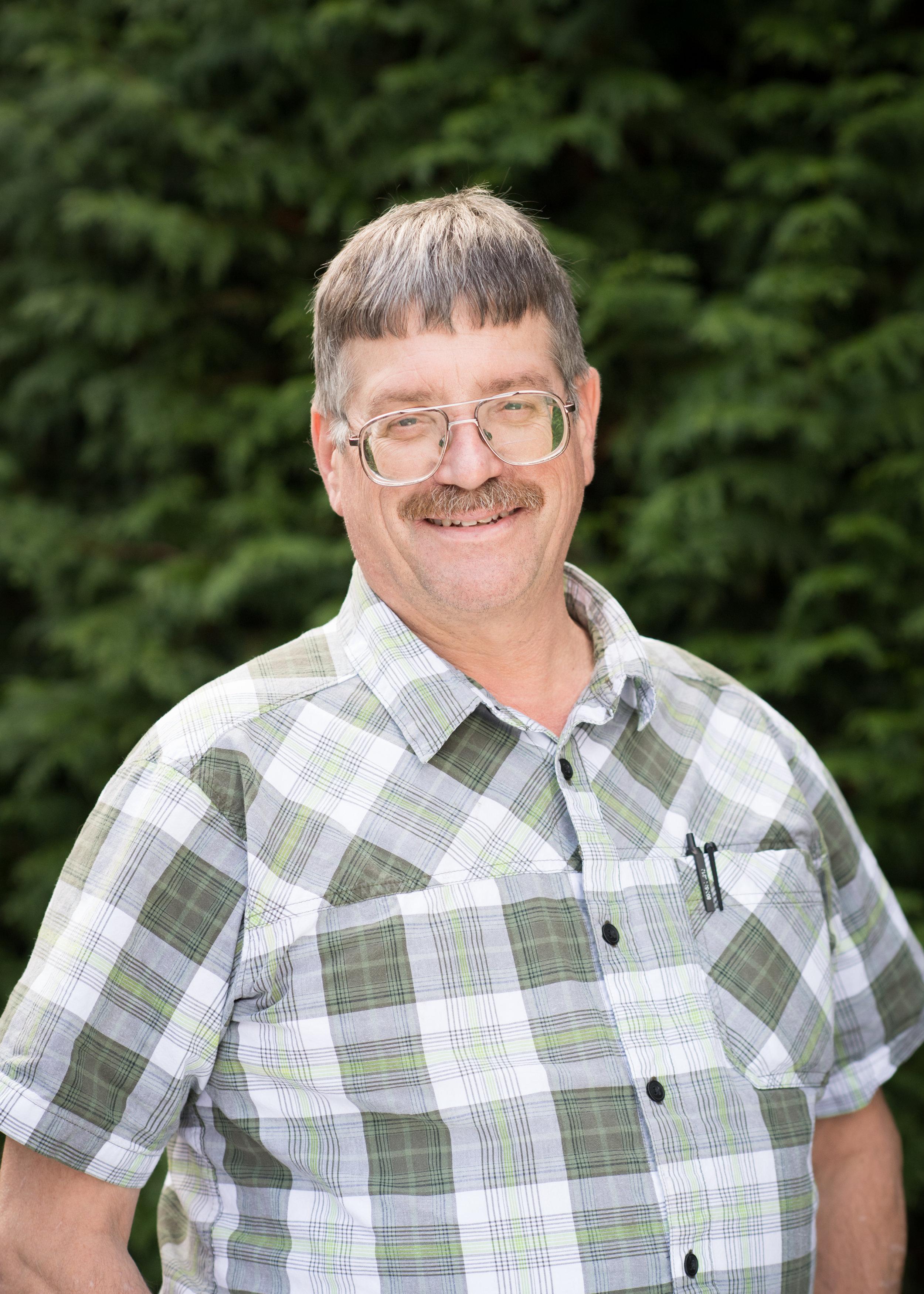 Dave Brandenburg, Maintenance Supervisor