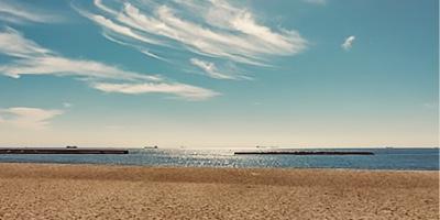 Suma Beach, Kobe JAPAN