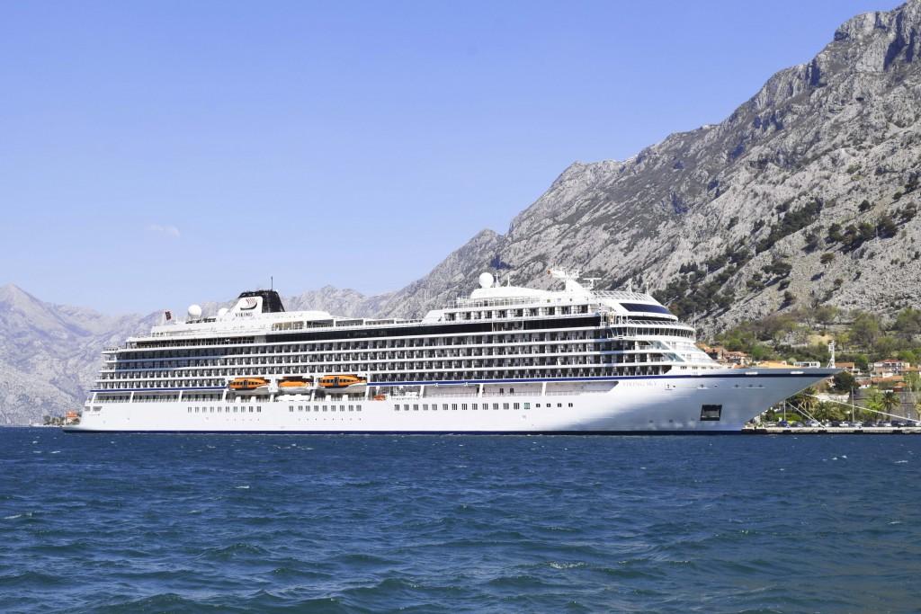 Viking Sky docked in Montenegro 1