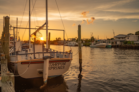 A fishing boat at the docks, sunset.  Jaime Montilla, Dreamstime.com