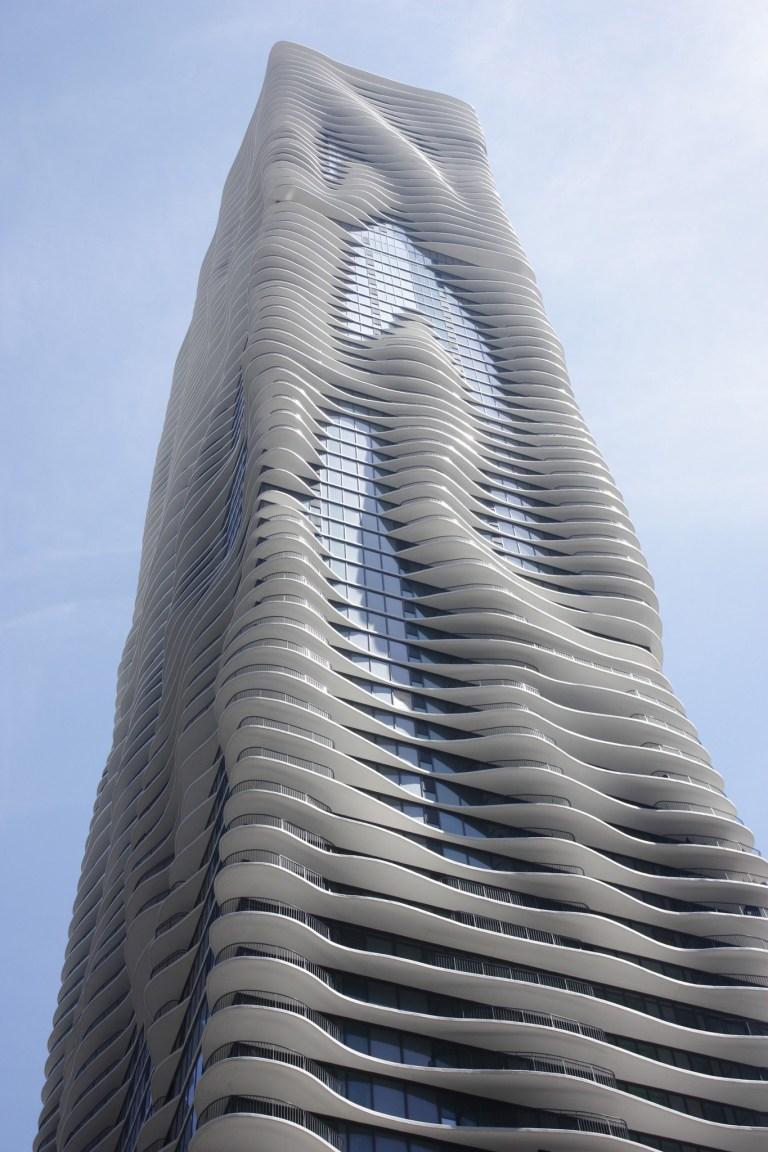 Aqua Tower courtesy of Chicago Architecture Center