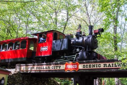 Steam Train: Credit: Silver Dollar City Attractions