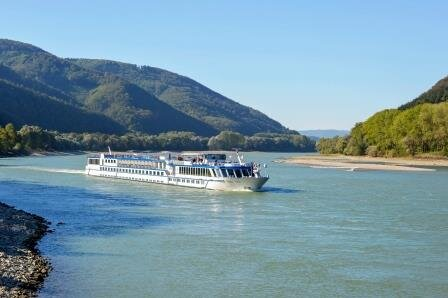 The Riverboat Aria en route photo: Grand Circle Corp.