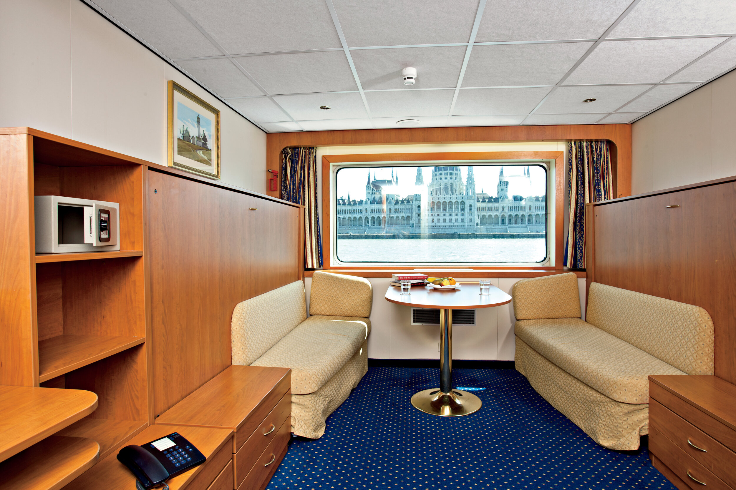 A typical stateroom
