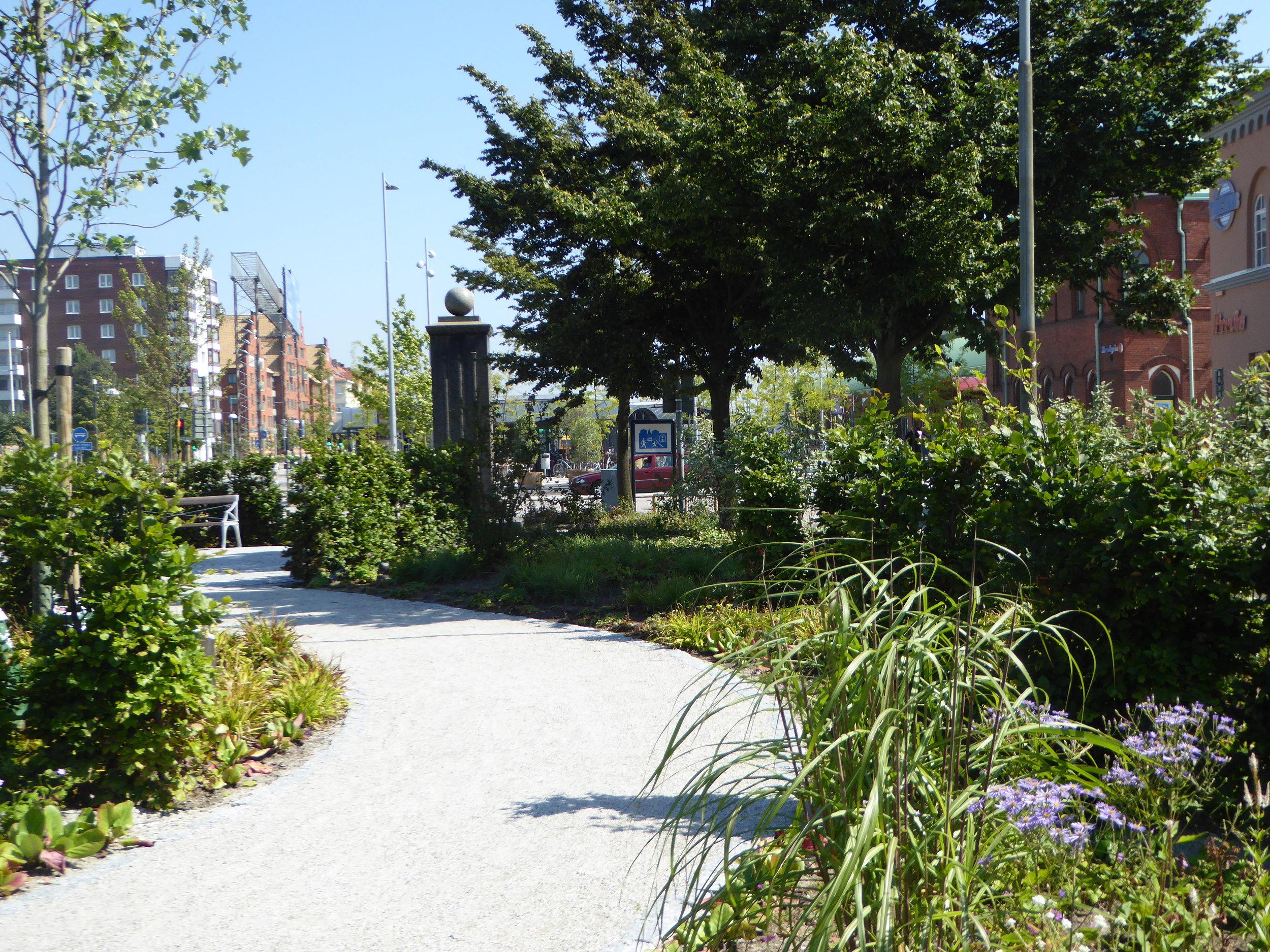 Järnvägsparken - Trelleborg