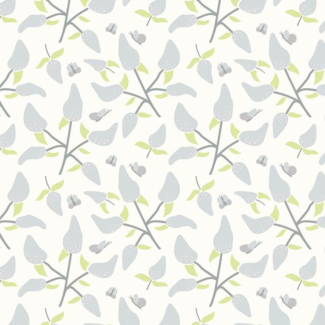 Jag längtar så efter sommar, blommar och fjärilar, våren här är jag! 👋⠀⠀⠀⠀⠀⠀⠀⠀⠀ ⠀⠀⠀⠀⠀⠀⠀⠀⠀ Eng, I can't wait for summer, flowers and butterflies, summer here I am! 👋⠀⠀⠀⠀⠀⠀⠀⠀⠀ ⠀⠀⠀⠀⠀⠀⠀⠀⠀ #surfacepattern #printand pattern #patterndesign