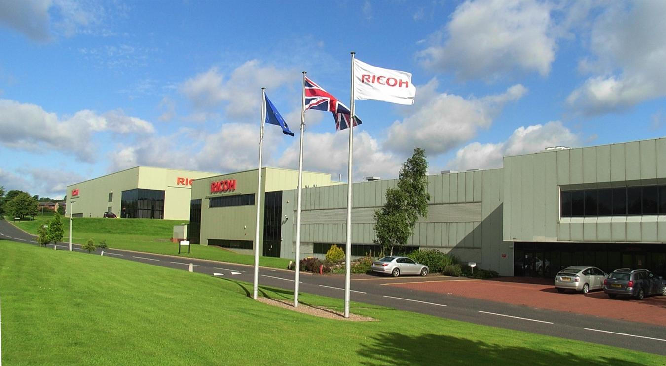 Ricoh's Inkjet Development Centre in Telford, UK