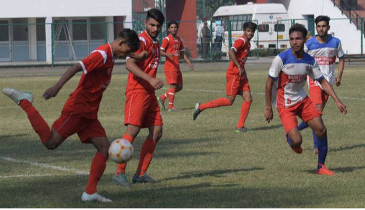 Cordia Players in Action during the Administrators Cup, Chandigarh