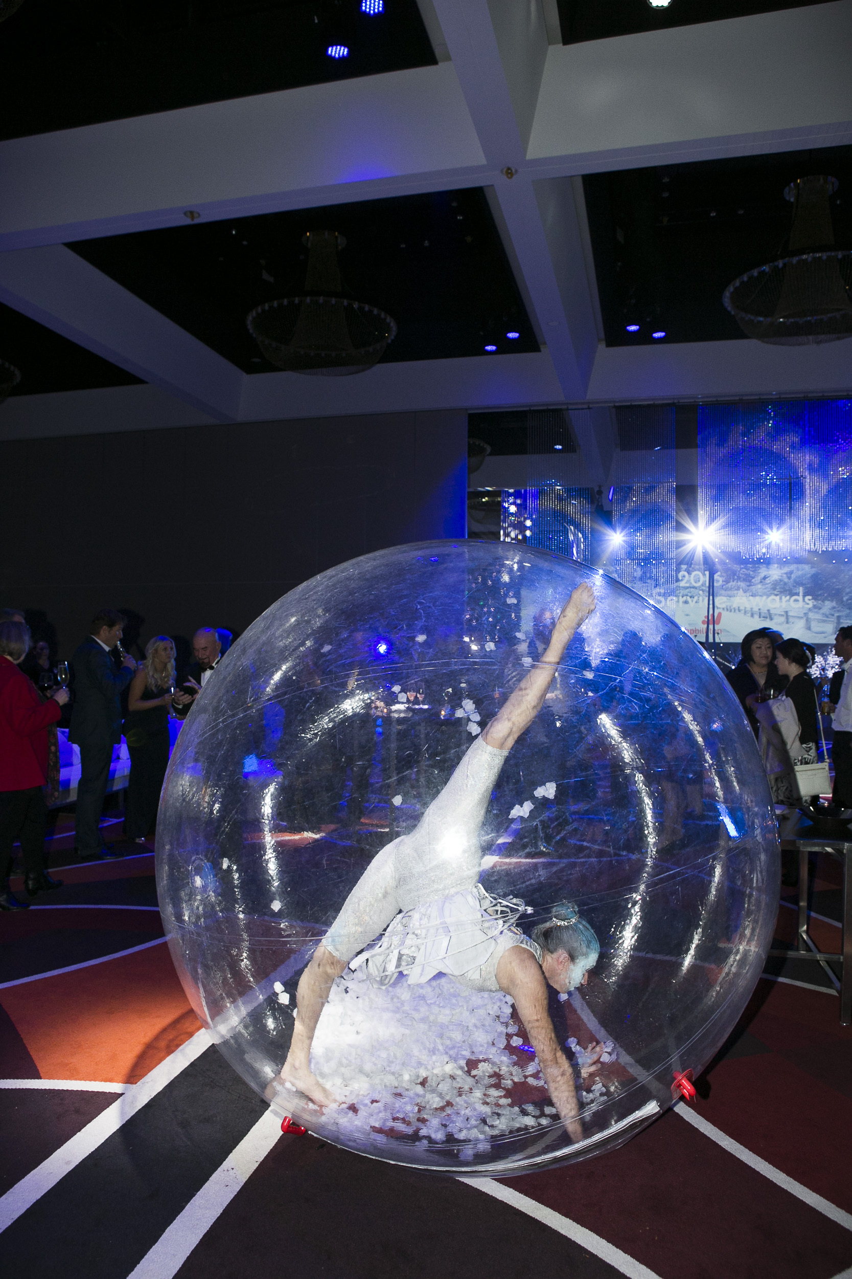 'Winter Wonderland' Snow-globe Roving
