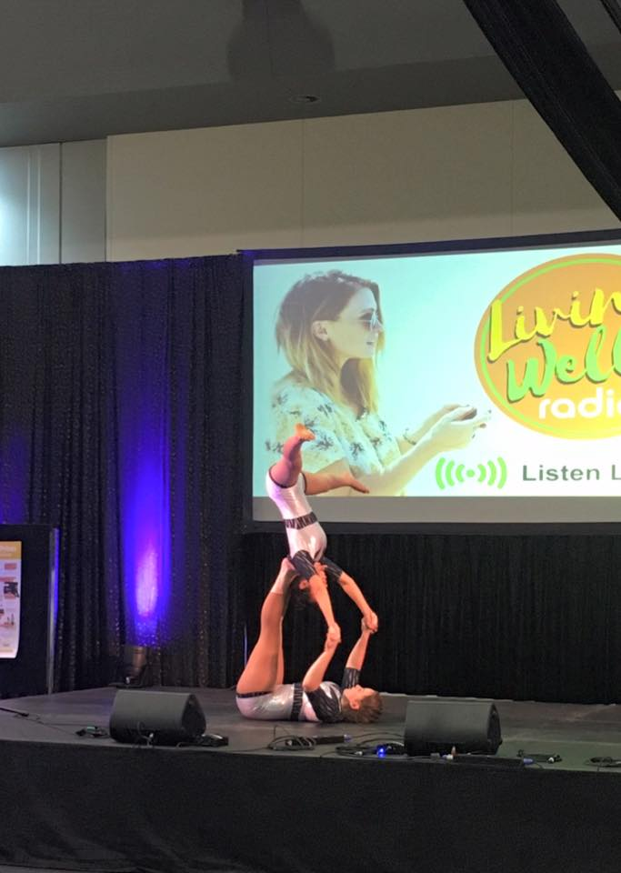 Kinetica performing at the Living Well Expo