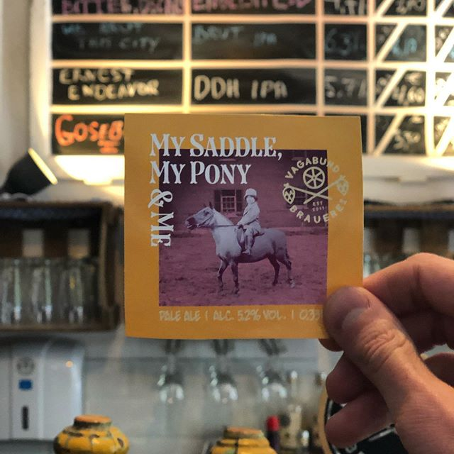 Bottle Release! On Thursday we'll be filling and releasing bottles of My Saddle, My Pony and Me - join us at the Taproom from 6pm on May 16th and grab yours!