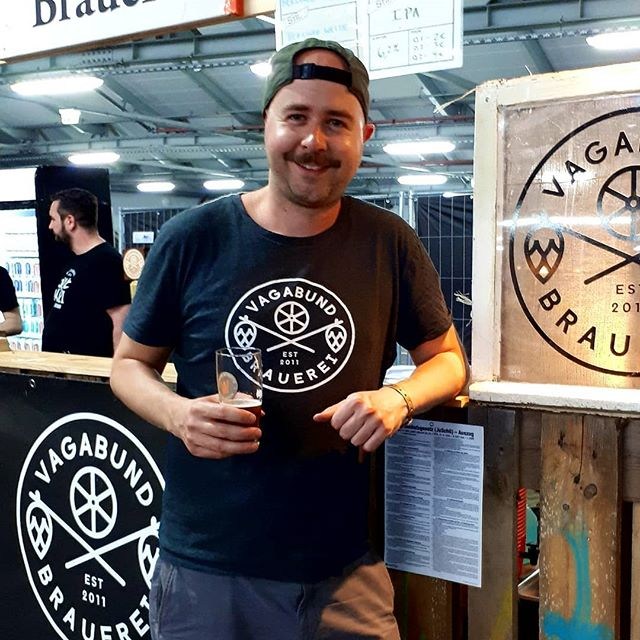 Would you buy beer from this man? If you come to Craft Market 2019 in Hamburg today you won't have to, but you probably should.