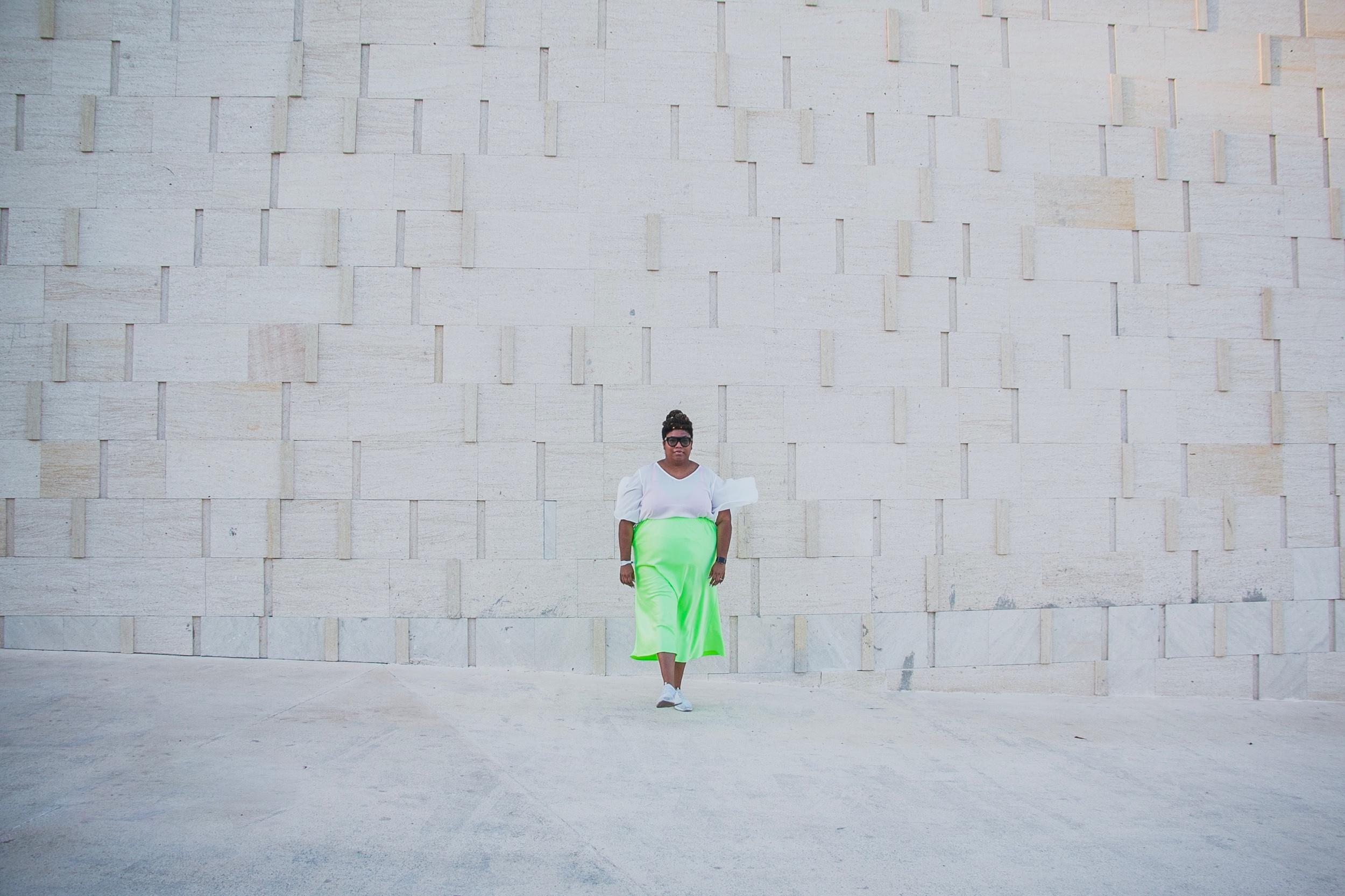 Skirt:  ASOS // Shirt:  Eloquii