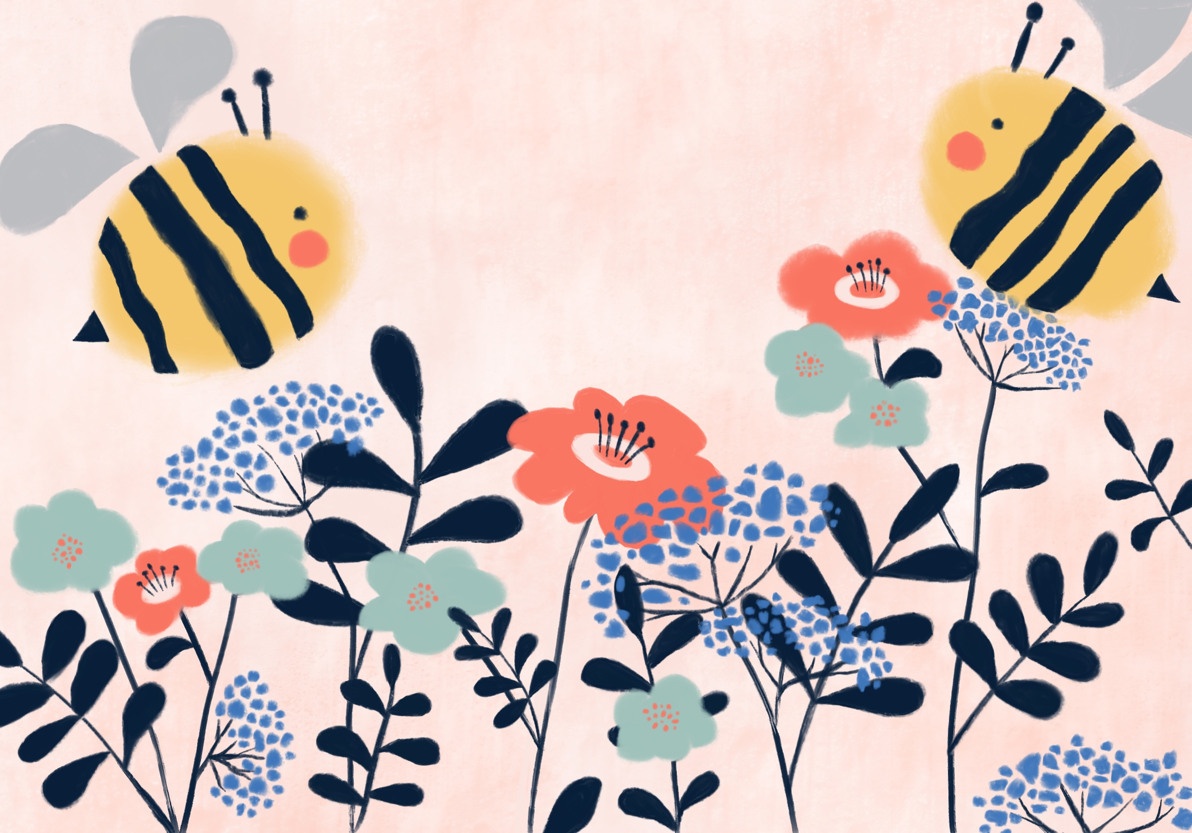 Busy bees - Ages 2 - 3 years