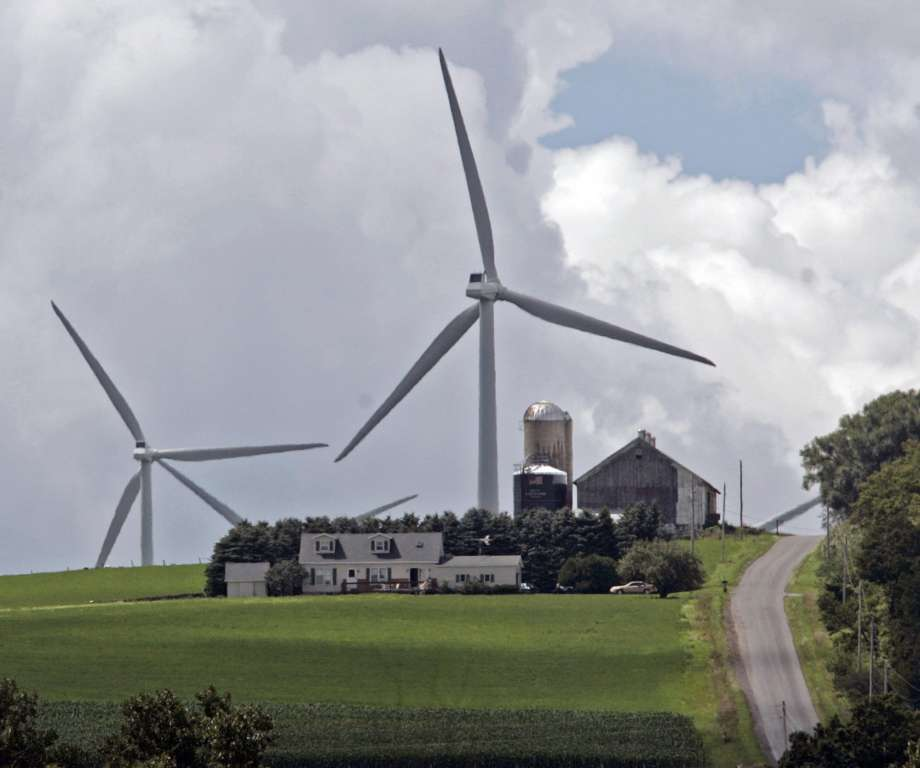 Maple Ridge Wind Farm, Lewis County, New York