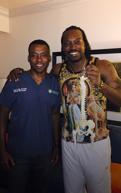 Hope For Athletes with Back Problems - World-Renowned Cricket Star Performs at Highest Career Levels After Outpatient LES Surgery on His Back at the Less Institute Academic Center of Excellence in South Florida.Read More